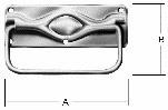 Ручка-скоба для ящика VORMANN