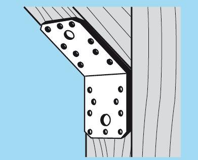 Уголок для стропильных соединений, 135° USE