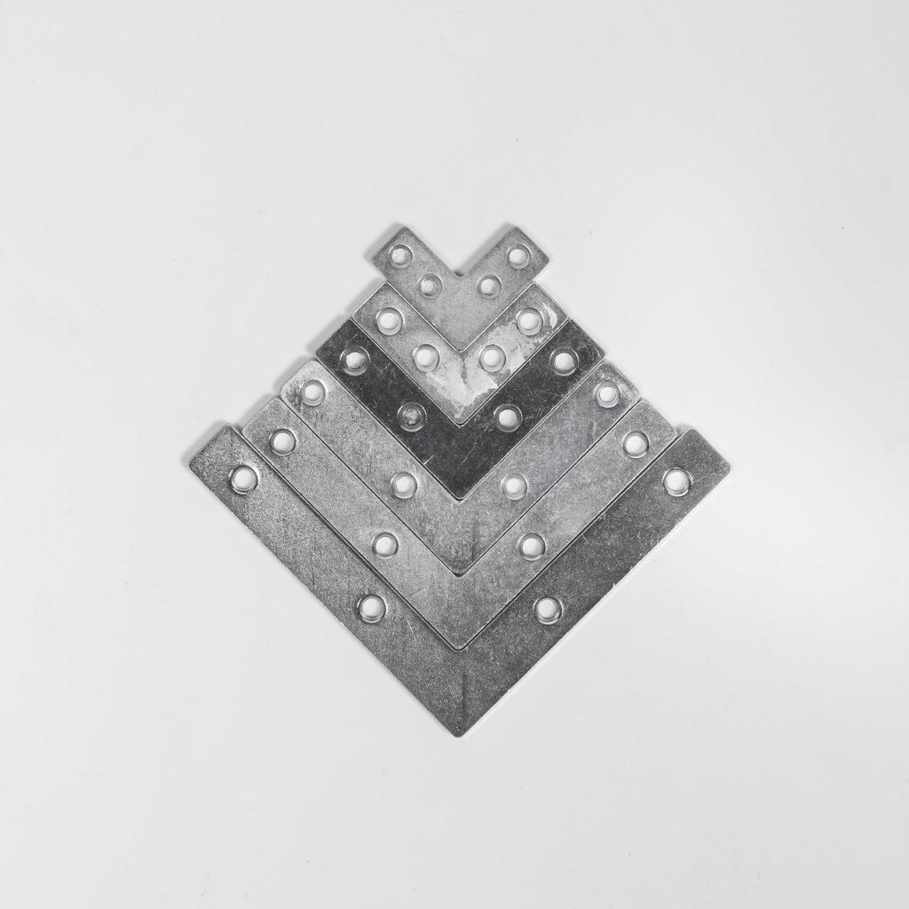 Уголок плоский мебельный (2) VORMANN