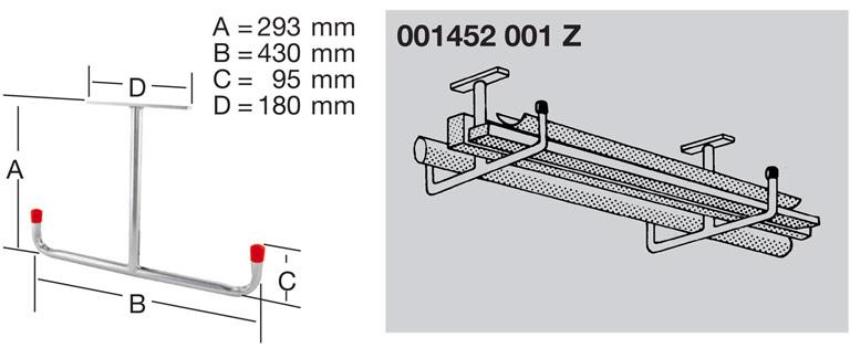 Крюк потолочный T-образный