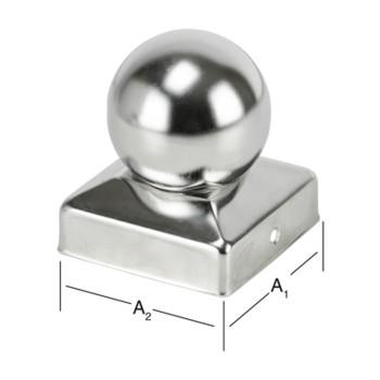 Колпак для деревянной стойки с шаром 010336070-090 чертеж