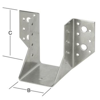 Опора балки тип А 070972000-070974000RF чертеж