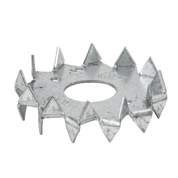Диск зубчатый из оцинкованной стали