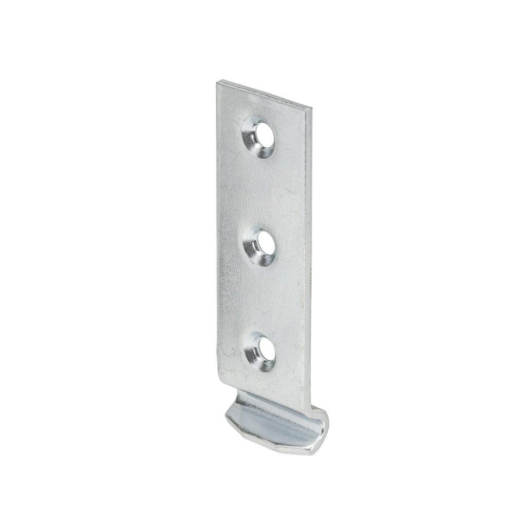 Крючок к замку для ящика изогнутый VORMANN. Материал: оцинкованная сталь.